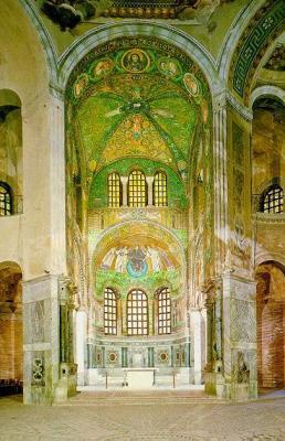 Mosaicos de San Vital de Ravena