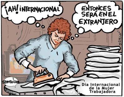 8 de marzo: Día Internacional de la Mujer Trabajadora